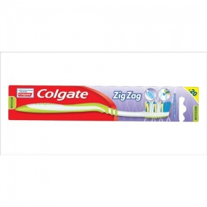 COLGATE ZIG ZAG ANTI-GERM MEDIUM TB 1 N
