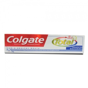 COLGATE TOTAL ADVANCED WHITENING TP 140G