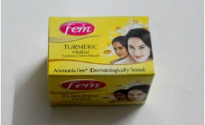 FEM TURMERIC HERBAL FAIRNESS CREME BLEACH 8G