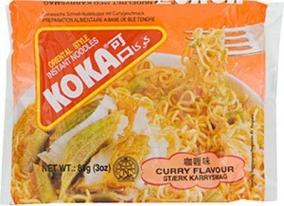 KOKA THE NOODLE PEOPLE CURRY FLAV 85G