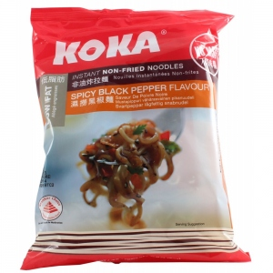 KOKA SPICY BLACK PEPPER FLAVOR 85GM