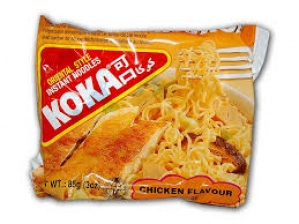 KOKA THE NOODLE PEOPLE CHICKEN FLAV 85G