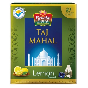 BROOKE BOND TAJ MAHAL LEMON F