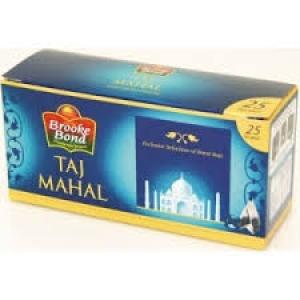 BROOKE BOND TAJ  MAHAL TEA BAGS 25