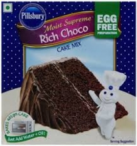 PILLSBURY CHOCO CAKE MIX EGG FREE 270G