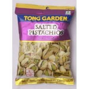 TONG GARDEN SALTED PISTACHIOS 40G
