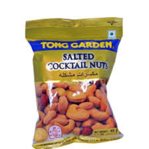 TONG GARDEN SALTED COCKTAIL NUTS 45G
