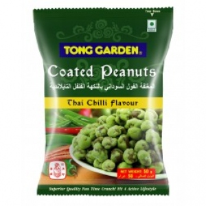 TONG GARDEN THAI CHILLI FLAV COATED PEANUTS 50G