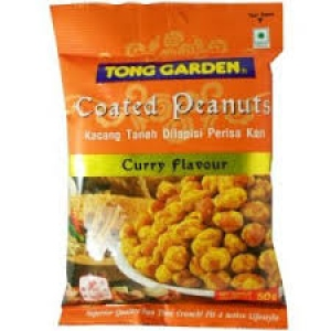 TONG GARDEN CURRY FLAV COATED PEANUTS 50G