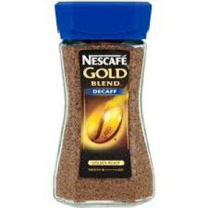 NESCAFE GOLD DECAFFEINATED 100G