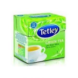 TETLEY GREEN TEA WITH ALOE VERA FLAVOUR 10 BAGS