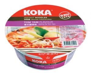 KOKA TOM YAM FLAVOUR INSTANT NOODLES BOWL 90G
