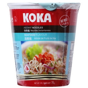 KOKA NOODLES CUP SPICY SHRIMP FLAV 70G
