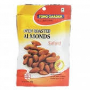 TONG GARDEN OVEN ROASTED ALMONDS 100G