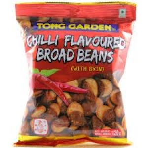 TONG GARDEN CHILLI FLAVOURED BROAD BEANS