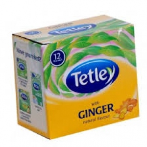 TETLEY WITH GINGER FLAVOUR 12 BAGS