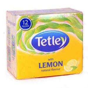 TETLEY WITH LEMON FLAVOUR 12 BAGS