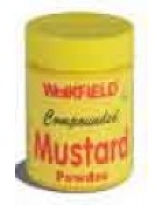 WEIKFIELD COMPOUNDED MUSTARD SEASONING 100G