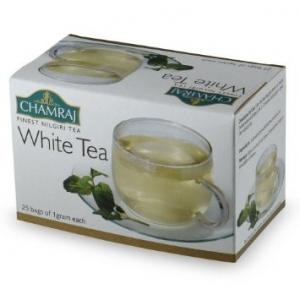 CHAMRAJ WHITE TEA 25 BAGS