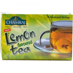 CHAMRAJ LEMON FLAVOURED TEA BAGS