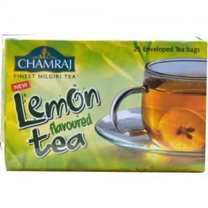CHAMRAJ LEMON FLAVOURED TEA BAGS