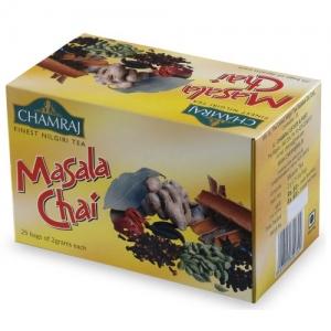 CHAMRAJ MASALA CHAI 25 TEA BAGS