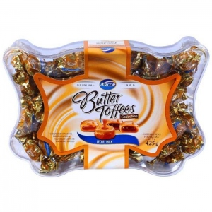 ARCOR BUTTER TOFFEES ASSORTED 425G