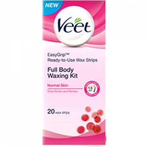 VEET WAXING KIT NORMAL SKIN 20 STRIPS