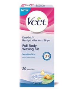VEET WAXING KIT SENSITIVE SKIN 20 STRIPS