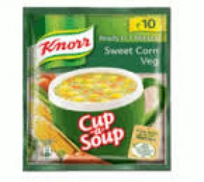 KNORR CUP-A-SOUP SWEET CORN VEG 12G