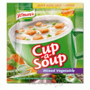 KNORR CUP-A-SOUP MIXED VEG 11G