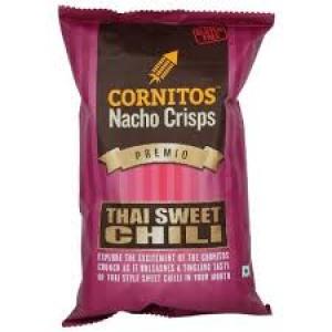 CORNITOS NACHO CRISPS THAI SWEET CHILLI 150G