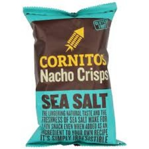 CORNITOS NACHO CRISPS SEA SALT 150G