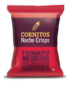 CORNITOS NACHO CRISPS TOMATO MEXICANA 150G