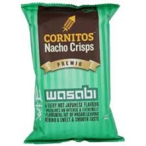 CORNITOS NACHO CRISPS WASABI 150G