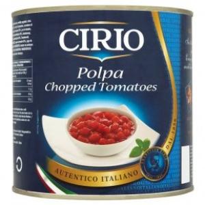 CIRIO POLPA CHOPPED TOMATOES WITH HERBS 400G