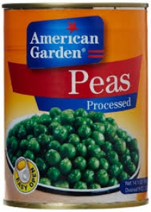 AMERICAN GARDEN PEAS PROCESSED 400G