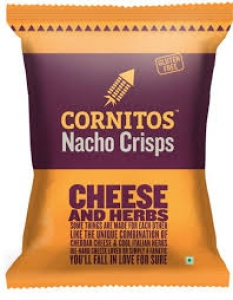 CORNITOS NACHO CRISPS CHEESE & HERBS 60G