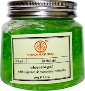KHADI NATURAL ALOEVERA GEL GREEN 200G