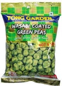 TONG GARDEN WASABI COATED GREEN PEAS 100G