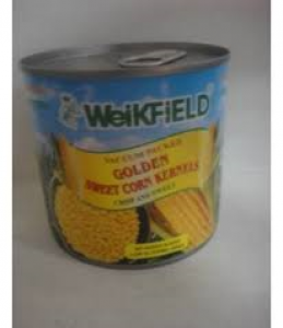 WEIKFIELD GOLDEN SWEET CORN KERNELS 340G