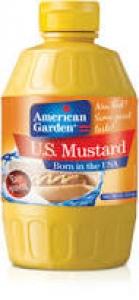 AMERICAN GARDEN U.S.MUSTARD SQUEEZE 340G