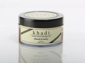KHADI NATURAL ALMOND & HONEY GEL SCRUB 50G