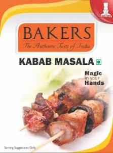 BAKERS KABAB MASALA 100G