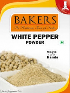 BAKERS WHITE PEPPER POWDER 90G