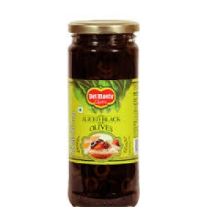 DEL MONTE SLICED BLACK OLIVES 450G