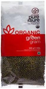 PHALADA ORGANIC GREEN GRAM 500G
