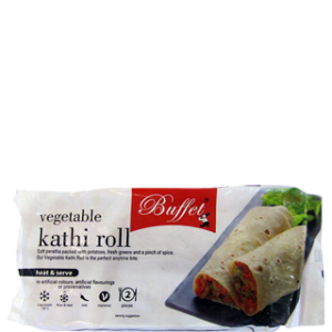 BUFFET VEGETABLE KATHI ROLL 300G