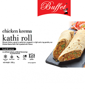 BUFFET CHICKEN KEEMA KATHI ROLL 300G