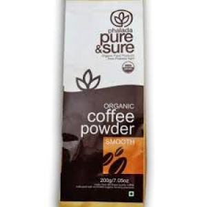 PHALADA ORGANIC COFFEE POWDER SMOOTH 200G